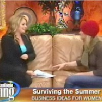 Angelina Musik on NBC's SA Living Morning Show
